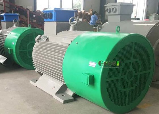 50KW 500KW Low rpm 3-phase ac Permanent Magnet Generator For Wind/Hydro Turbine